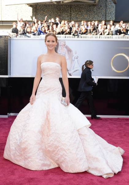 Jennifer Lawrence: Christian Dior